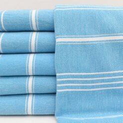 Cacala Turkish Towels Amazon Melissa Peshtemal Turquoise (4)