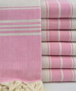ETSY Turkish Towels Sydney Peshtemal Pink (4)