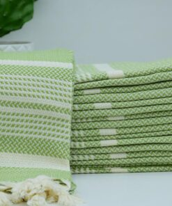 Fouta Towels Angora Peshtemal Lime Green (4)
