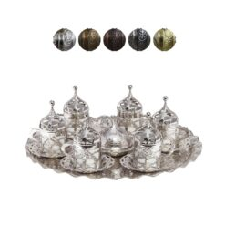 Roxolena Collection Turkish Coffee Sets for 6