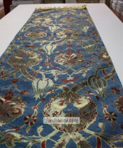 Blue Turkish Tulip Patterned Floral Table Runner target gift card balance