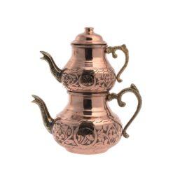 Copper Turkish Tea Pot Small