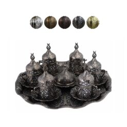 Istanbul Collection Turkish Coffee Set for 6
