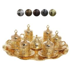 Moonstar Collection Turkish Coffee Set for 6