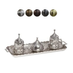 Roxolena Collection Turkish Coffee Set for 2