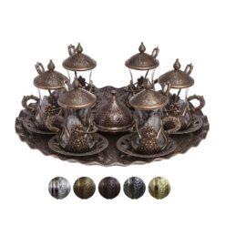 Turkish Tea Set for 6