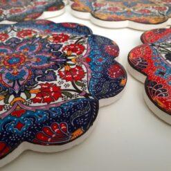 Turkish Ceramic Trivets Fethiye Collection