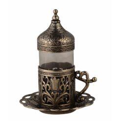 Dark Silver Zamzam Water Cup
